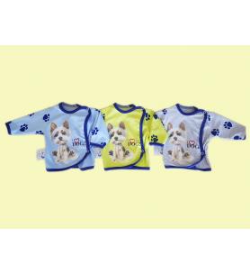 Koszulka niemowlęca Kolekcja Piesek chłopiec