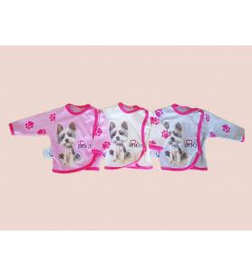 Koszulka niemowlęca Kolekcja Piesek dziewczynka