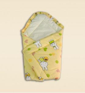 Becik niemowlęcy kremowy