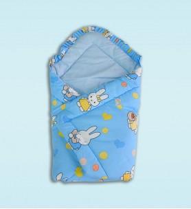 Becik niemowlęcy niebieski
