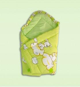 Becik niemowlęcy zielony