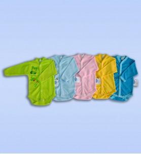 Body rozpinane długi rękaw kolorowe z nadrukiem