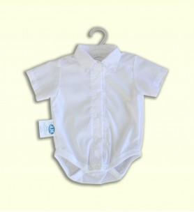 Bodo-koszule krótki rękaw białe