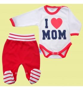 Komplet body + półśpioch Mom