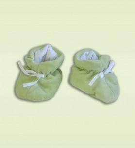 Buciki wciągane zielone