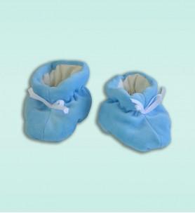 Buciki wciągane niebieskie