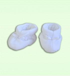 Buciki wciągane białe