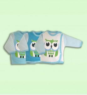 Koszulka niemowlęca  Kolekcja Sowa chłopiec
