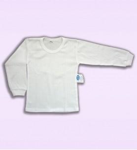 Koszulka dziecieca  z długim rękawem biała