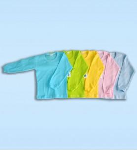 Koszulka dziecięca z długim rękawem kolorowa