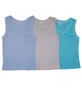 Koszulka dziecięca na ramiączkach kolorowa 3 szt.