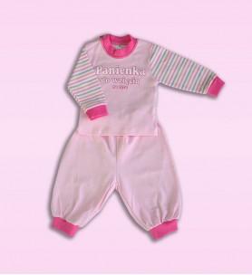Piżamka niemowlęca Panienka 74 - 104 cm