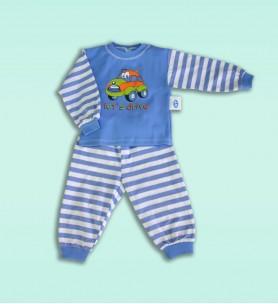 Piżamka dziecięca 92 cm niebieska