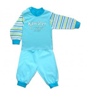 Piżamka niemowlęca Kawaler 74 - 104 cm