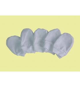 Rękawiczki bawełniane białe (niedrapki)