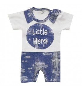 Rampers z krótką nogawką  Little Hero Jeans