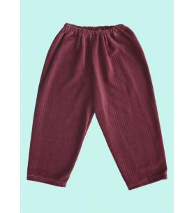 Spodnie welurowe 92-104 cm